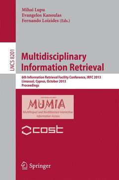 Couverture de l'ouvrage Multidisciplinary Information Retrieval