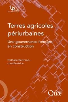 Couverture de l'ouvrage Terres agricoles périurbaines