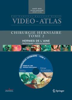 Couverture de l'ouvrage Vidéo atlas chirurgie herniaire