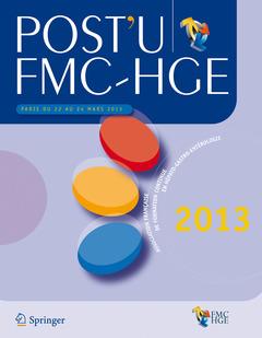Couverture de l'ouvrage POST'U / FMC-HGE Paris du 22 au 24 mars 2013