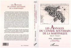 Couverture de l'ouvrage Annales (4 vol) du conseil souverain de la martinique