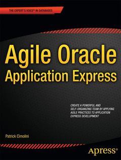 Couverture de l'ouvrage Agile Oracle Application Express