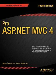 Couverture de l'ouvrage Pro ASP.NET MVC 4