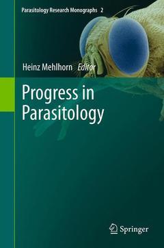 Couverture de l'ouvrage Progress in parasitology (Parasitology research monographs, Vol. 2)