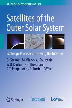 Couverture de l'ouvrage Satellites of the Outer Solar System