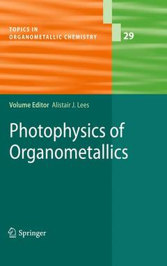 Cover of the book Photophysics of Organometallics