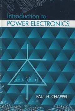 Couverture de l'ouvrage Introduction to Power Electronics