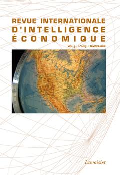 Couverture de l'ouvrage Revue internationale d'intelligence économique
