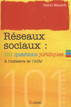 Couverture de l'ouvrage Réseaux sociaux