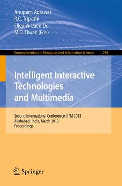 Cover of the book Intelligent Interactive Technologies and Multimedia