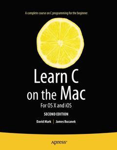Couverture de l'ouvrage Learn C on the Mac