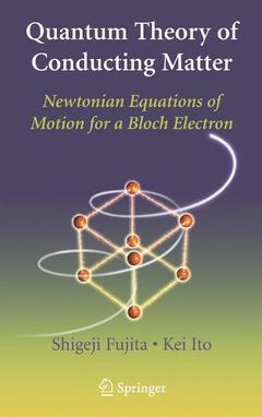 Couverture de l'ouvrage Quantum Theory of Conducting Matter