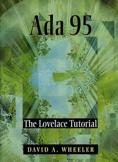 Couverture de l'ouvrage Ada 95 : the lovelace tutorial