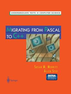 Couverture de l'ouvrage Migrating from Pascal to C++