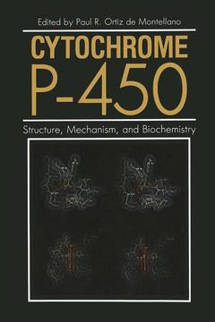 Cover of the book Cytochrome P-450 : structure mechanism and biochemistry