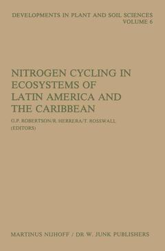 Cover of the book Nitrogen cycling in latin america and ca ribbean ecosystems