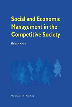 Couverture de l'ouvrage Social and economic management in the co mpetitive society