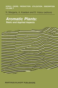Couverture de l'ouvrage Aromatic Plants