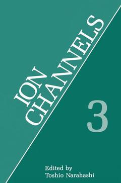 Couverture de l'ouvrage Ion channels vol 3