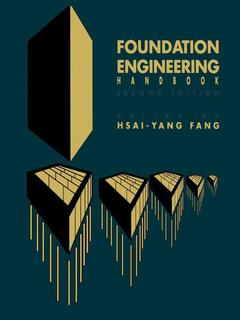 Couverture de l'ouvrage Foundation engineering handbook (2nd ed' 91)