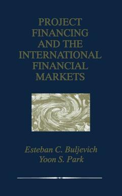 Couverture de l'ouvrage Project financing and the international financial markets