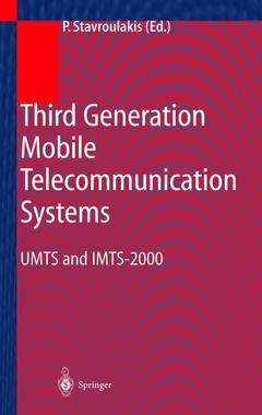 Couverture de l'ouvrage Third Generation Mobile Telecommunication Systems