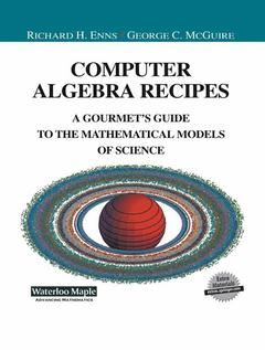 Cover of the book Computer Algebra Recipes
