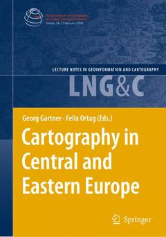 Couverture de l'ouvrage Cartography in Central and Eastern Europe