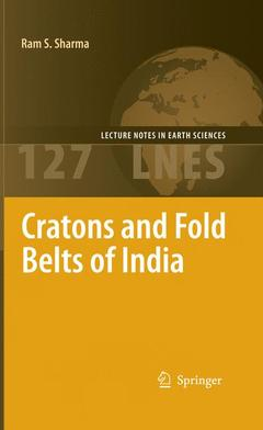 Couverture de l'ouvrage Cratons and Fold Belts of India