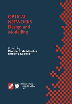 Couverture de l'ouvrage Optical Networks