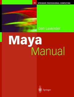 Couverture de l'ouvrage Maya Manual