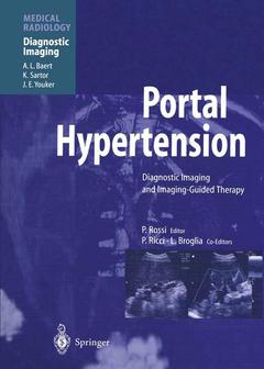 Cover of the book Portal hypertension diagnostic imaging