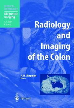 Couverture de l'ouvrage Radiology & imaging of the colon
