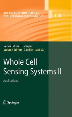 Cover of the book Whole Cell Sensing System II