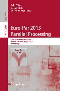 Couverture de l'ouvrage Euro-Par 2013: Parallel Processing