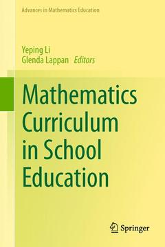 Cover of the book Mathematics Curriculum in School Education
