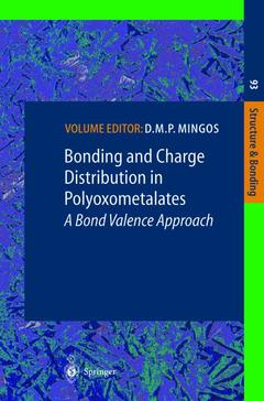 Couverture de l'ouvrage Bonding and Charge Distribution in Polyoxometalates: A Bond Valence Approach