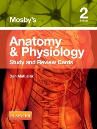 Couverture de l'ouvrage Mosby's Anatomy & Physiology Study and Review Cards