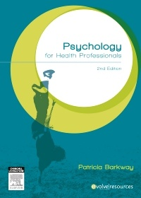 Couverture de l'ouvrage Psychology for Health Professionals