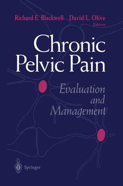 Couverture de l'ouvrage Chronic pelvic pain evaluation & management HARDBACK
