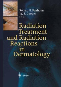 Couverture de l'ouvrage Radiation treatment and radiation reactions in dermatology