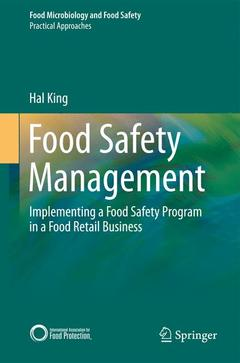 Couverture de l'ouvrage Food Safety Management
