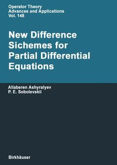 Couverture de l'ouvrage New Difference Schemes for Partial Differential Equations