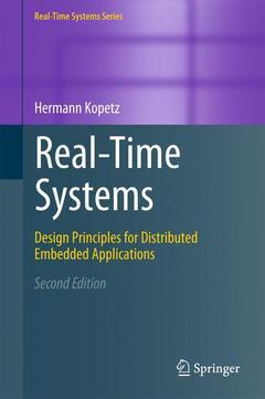 Couverture de l'ouvrage Real-time systems