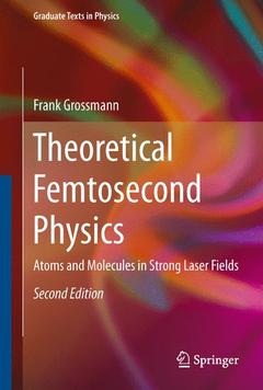 Couverture de l'ouvrage Theoretical Femtosecond Physics