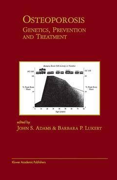 Couverture de l'ouvrage Osteoporosis : genetics, prevention and treatment
