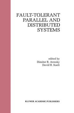 Cover of the book Fault tolerant parallel and distributed systems