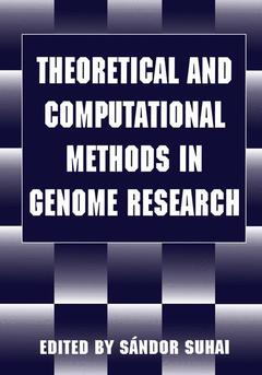 Couverture de l'ouvrage Theoretical and computational methods in genome research (Proc Heidelberg,Germany may 25/27, 1996)