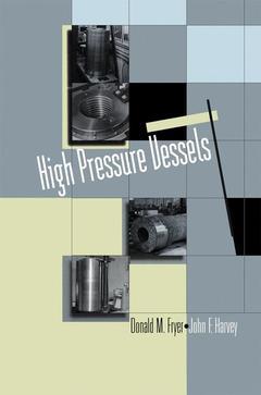 Couverture de l'ouvrage High pressure vessels