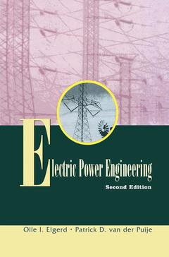 Couverture de l'ouvrage Electric power engineering, 2nd ed 1997